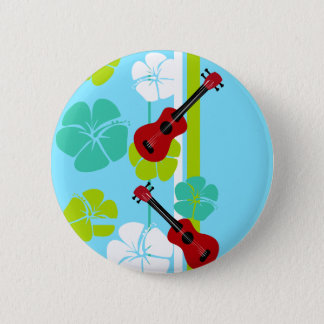 Ukulele Time! 6 Cm Round Badge