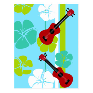 Ukulele Time! Postcard