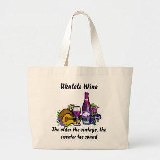 Ukulele Wine Bag