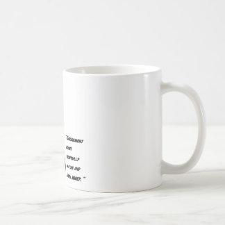 Ukuleles and bonds coffee mug