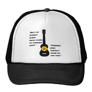 Ukuleles and bonds mesh hat
