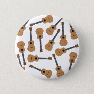 Ukuleles Uke 6 Cm Round Badge