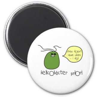 Ulcer 6 Cm Round Magnet