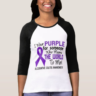 Ulcerative Colitis Means World To Me 2 T-Shirt