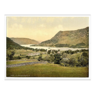 Ullswater, from S. W., Lake District, England rare Postcard