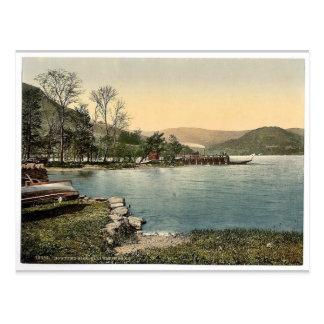 Ullswater, Howtown Pier, Lake District, England ra Postcard