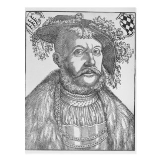 Ulrich, Duke of Wurttemberg Postcard