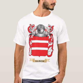 Ulrich Family Crest (Coat of Arms) T-Shirt
