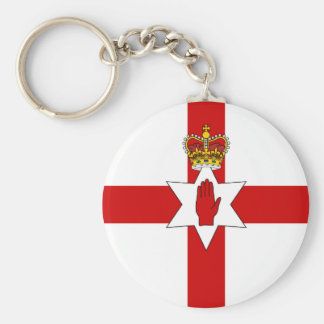 Ulster Banner Northern Ireland Flag Key Ring