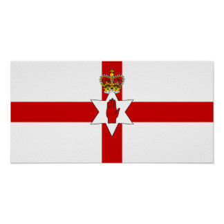 Ulster Banner Northern Ireland Flag Print