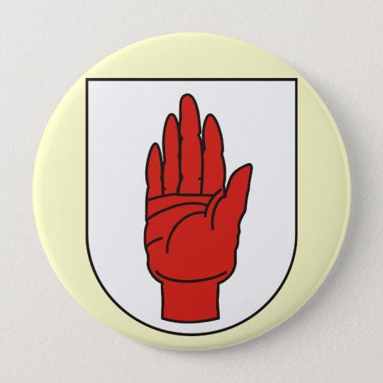 Ulster, Ireland 10 Cm Round Badge