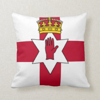 Ulster Northern Ireland Throw Pillow
