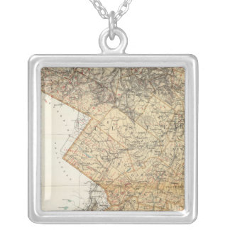 Ulster, Orange counties Silver Plated Necklace