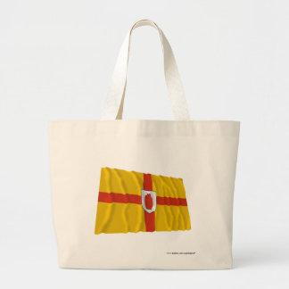 Ulster Province Waving Flag Jumbo Tote Bag