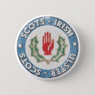 Ulster-Scots / Scots-Irish 6 Cm Round Badge