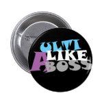 Ulti Like A Boss (dark) Button
