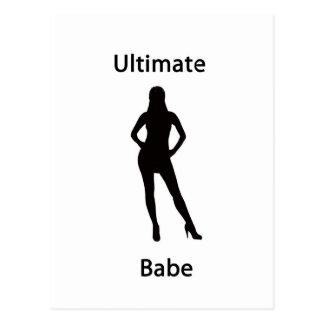 ultimate babe postcard