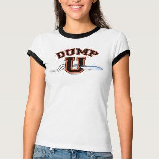 Ultimate DUMP U ORANGE BLACK Tees