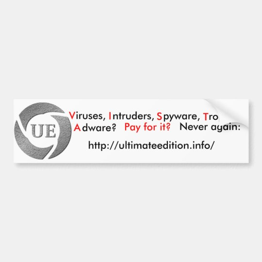 Ultimate Edition bumper sticker