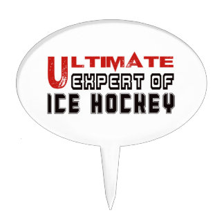 Ultimate Expert Of Ice Hockey. Cake Pick
