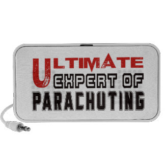 Ultimate Expert Of Parachuting. Portable Speaker