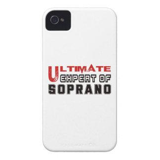 Ultimate Expert Of Soprano. iPhone 4 Case-Mate Case