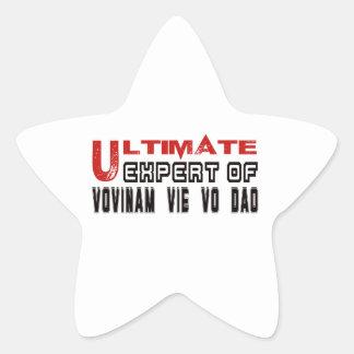 Ultimate Expert Of Vovinam vie vo dao. Star Sticker