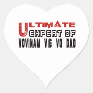 Ultimate Expert Of Vovinam vie vo dao. Heart Sticker