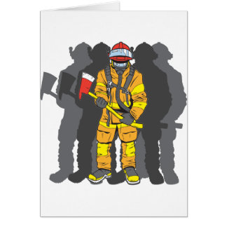 Ultimate Firefighter Card