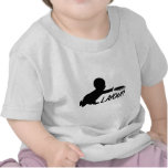 Ultimate Frisbee baby layout Tee Shirts