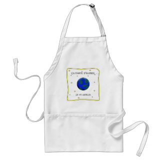 Ultimate Frisbee Is My World Standard Apron