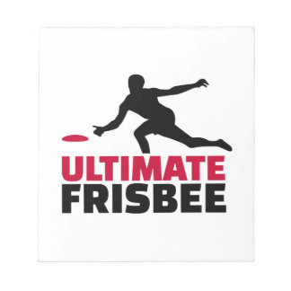 Ultimate Frisbee Notepad
