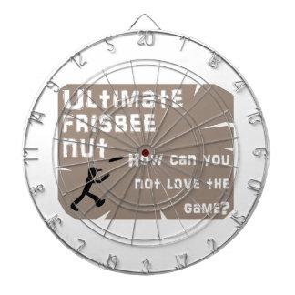 Ultimate Frisbee Nut Dartboard