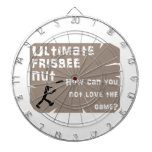 Ultimate Frisbee Nut Dartboard With Darts