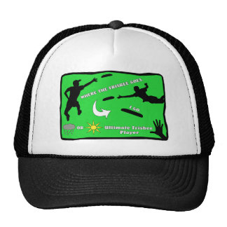 Ultimate Frisbee Rain or Shine Cap