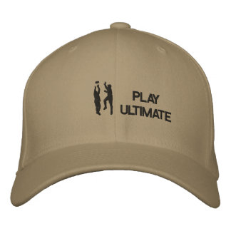 Ultimate Frisbee Stiched Hat Embroidered Hat
