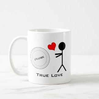 Ultimate Frisbee True Love Basic White Mug
