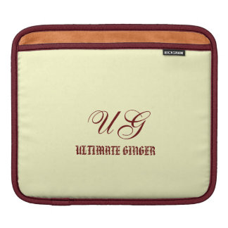 Ultimate Ginger for iPad iPad Sleeves