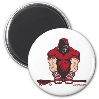 Ultimate Lacrosse 6 Cm Round Magnet