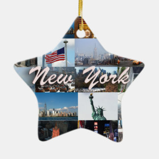 Ultimate! New York City Pro Photos Ceramic Star Decoration