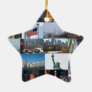 Ultimate! New York City Pro Photos Ceramic Star Decoration