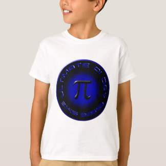 Ultimate Pi Day 2015 3.14.15 9:26:53 (blue) T-Shirt