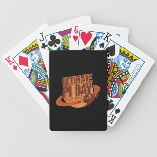 Ultimate Pi Day 2015 Bicycle Poker Deck