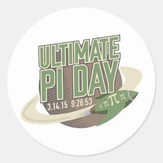 Ultimate Pi Day 2015 Classic Round Sticker