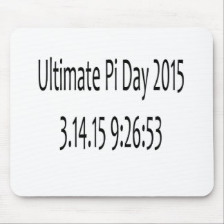 Ultimate Pi Day 2015 Image Mouse Pad