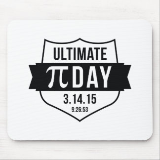 Ultimate Pi Day 2015 Mouse Pad