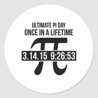 Ultimate Pi Day Round Sticker
