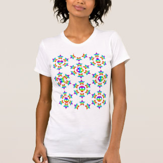 Ultimate Rainbow Star Skull Riot T-shirt