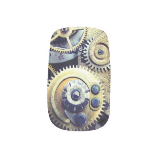 Ultimate Steampunk fashion victorian Gears cosplay Minx Nail Art