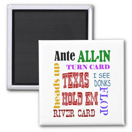 Ultimate Texas Holdem Magnets